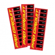 Pro Circuit Thermostrips Temperature Stickers