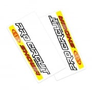Pro Circuit Upper Fork Decals - Showa