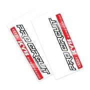 Pro Circuit Upper Fork Decals - Kayaba