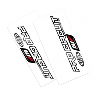 Pro Circuit Upper Fork Decals - WP
