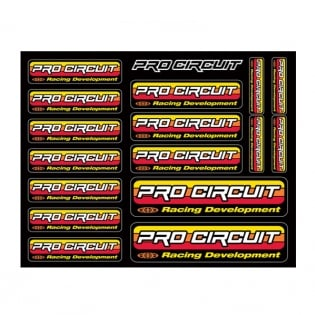Pro Circuit Decal Sheet - Original Logo