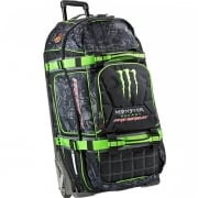 Pro Circuit Monster Traveler III Wheeled Gear Bag - Black