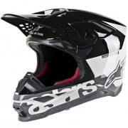 Alpinestars Supertech SM8 Radium White Black Grey Helmet