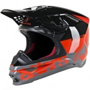 Alpinestars Supertech SM8 Radium Red Black Grey Helmet