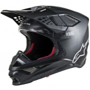 Alpinestars Supertech SM8 Solid Matt Black Helmet