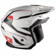 Hebo Zone 5 Polycarb Pursuit White Trials Helmet