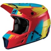 Leatt GPX 3.5 V19.1 Red Lime Helmet