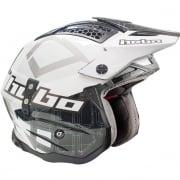 Hebo Zone 4 Fibre Patrick Black Trials Helmet