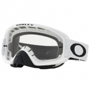 Oakley O Frame 2.0 Matte White Clear Lens Goggles