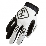 Fasthouse Diesel White Gloves