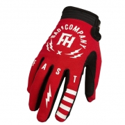 Fasthouse Speed Style Bad Company Red Gloves