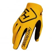 Fasthouse Speed Style Solid Yellow Gloves