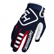 Fasthouse Kids Speed Style Patriot Navy Gloves