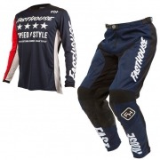 Fasthouse Alpha L1 Navy Kit Combo