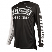 Fasthouse Block L1 Black Jersey