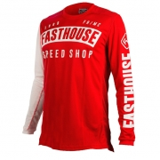 Fasthouse Block L1 Red Jersey