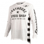 Fasthouse Originals Air Cooled L1 White Jersey