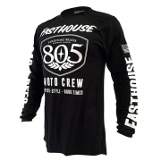 Fasthouse 805 Shield Black Jersey