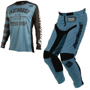 Fasthouse Speed Shop L1 Slate Blue Kit Combo