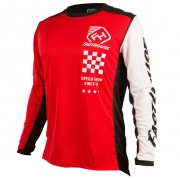 Fasthouse Icon L1 Kids Red Jersey