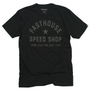 Fasthouse Too Easy Black T Shirt