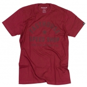 Fasthouse Too Easy Maroon T Shirt