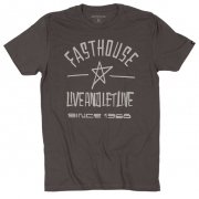 Fasthouse Saturday Heavy Metal T Shirt