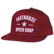 Fasthouse Speed Star Maroon Snapback Hat