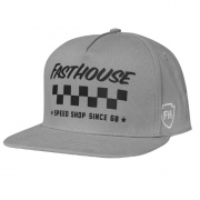 Fasthouse Tribe Grey Snapback Hat