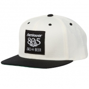 Fasthouse 805 White Black Hat