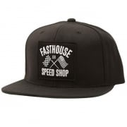 Fasthouse Fast Flags Black Hat