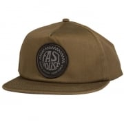 Fasthouse Stamped Spade Olive Snapback Cap
