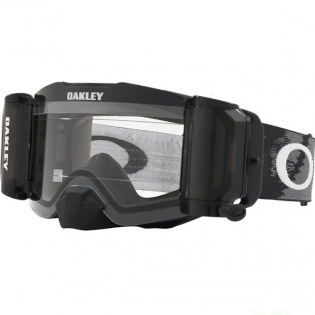 Oakley Front Line Roll Off Goggles - Matte Black Speed Clear