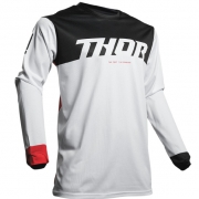 Thor Pulse Factory White Red Jersey