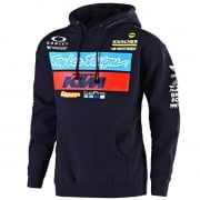 Troy Lee Designs Team KTM Navy Fleece Pull Over Hoodie