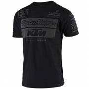 Troy Lee Designs Team KTM Black T Shirt
