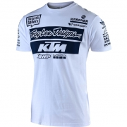 Troy Lee Designs Team KTM White  T Shirt