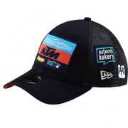 Troy Lee Designs Team KTM Navy Curve Snapback Cap