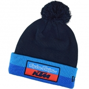 Troy Lee Designs Team KTM Navy Stripe Pom Beanie