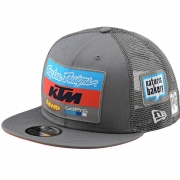 Troy Lee Designs Team KTM Charcoal Snapback Cap