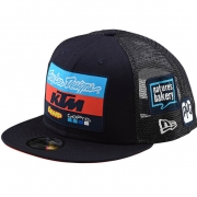 Troy Lee Designs Kids Team KTM Navy Snapback Cap