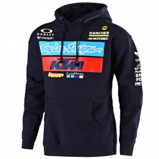 Troy Lee Designs Kids Team KTM Navy Pull Over Hoodie