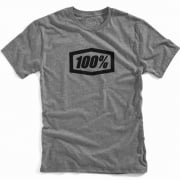 100% Essential Gunmetal Heather T Shirt