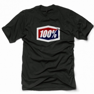 100% Official Black T Shirt