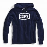 100% Syndicate Navy White Hoodie