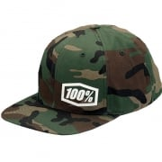 100% Machine Camo Snapback Hat