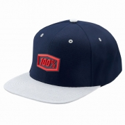 100% Enterprise Snapback Navy Hat