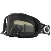 Oakley Crowbar Jet Black Speed Dark Grey Sand Goggles