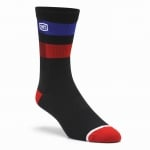 100% Flow Performance Black Socks