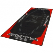 Zeta Pit Floor Mat - Red Black